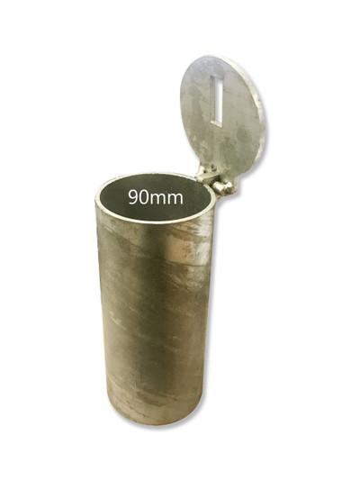 Sleeve-lok 90mm diameter in-ground SLEEVE - CORE DRILLED