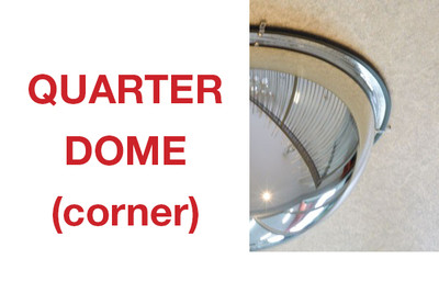 Convex mirror - corner DOME 600mm