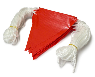 Bunting Flag ORANGE - 30 metres