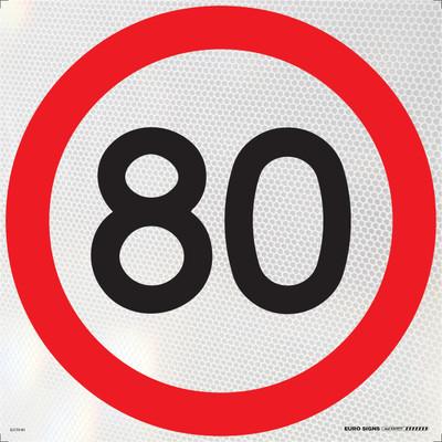 80- 600x600 Corflute HI-INT BLK/RED/WHT