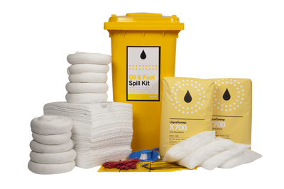 Spill kit - 240 LTR BIN - Oil & Fuel - STD