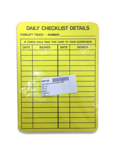FORKLIFTAG x10 INSERTS ONLY