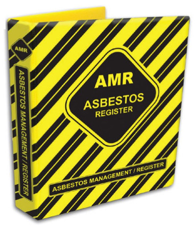 ASBESTOS MANAGEMENT/REGISTER BINDER