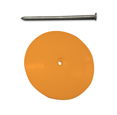 Line-O-Dot (Plastic) YELLOW c/w Galvanised Nail