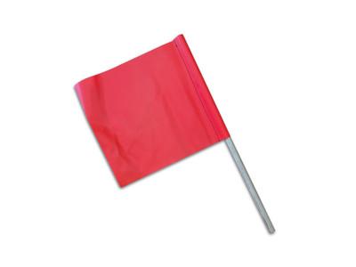 Oversize Flag ORANGE Plain 300x300 c/w DOWEL