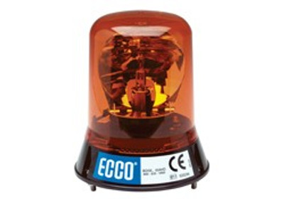 Rotating Beacon FIXED 12 volt AMBER