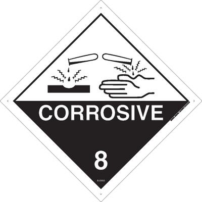 Class Label CORROSIVE 8 270x270 MTL