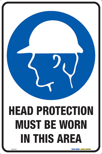HEAD PROTECT MUST BE WORN IN THIS AREA 300x450 MTL