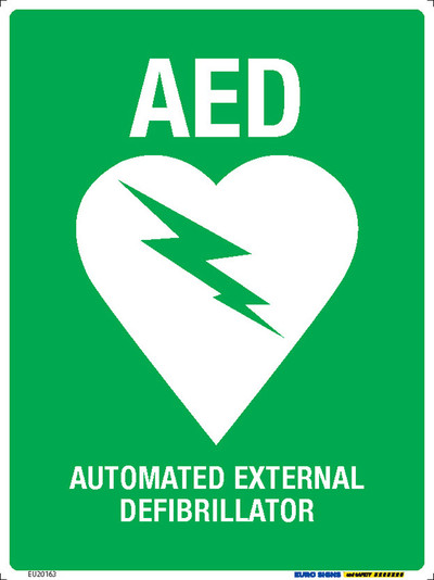 AED - AUTOMATED EXTERNAL DEFIBRILLATOR 225x300 POLY