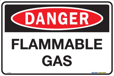 DANGER FLAMMABLE GAS 450x300 MTL