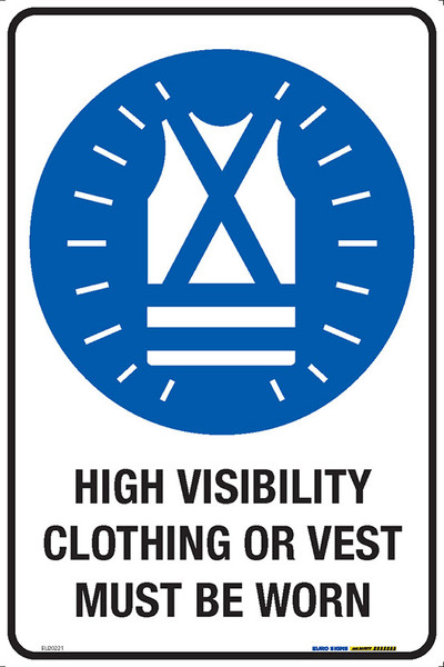 HIGH VISIBILITY CLOTHING OR VEST MUST BE WORN 300x450 MTL