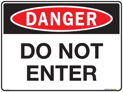 DANGER DO NOT ENTER 600x450 MTL