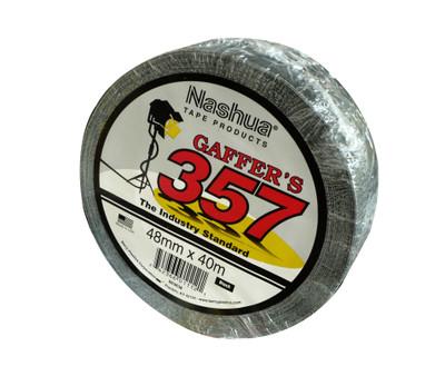Gaffer Tape - Nashua 357 BLK 48mmx40mtr ROLL