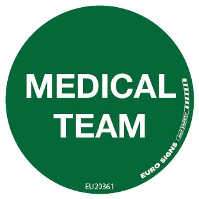 MEDICAL TEAM 50MM DECAL