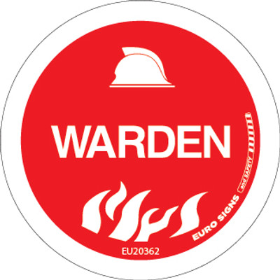 WARDEN 50MM DECAL