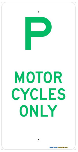 P MOTOR CYCLES ONLY - 225x450 ALUM
