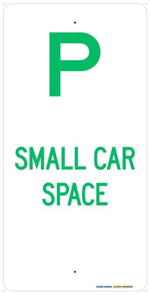 P SMALL CAR SPACE - 225x450 ALUM