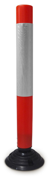Bounce Back PE Bollard 1000mm complete with base