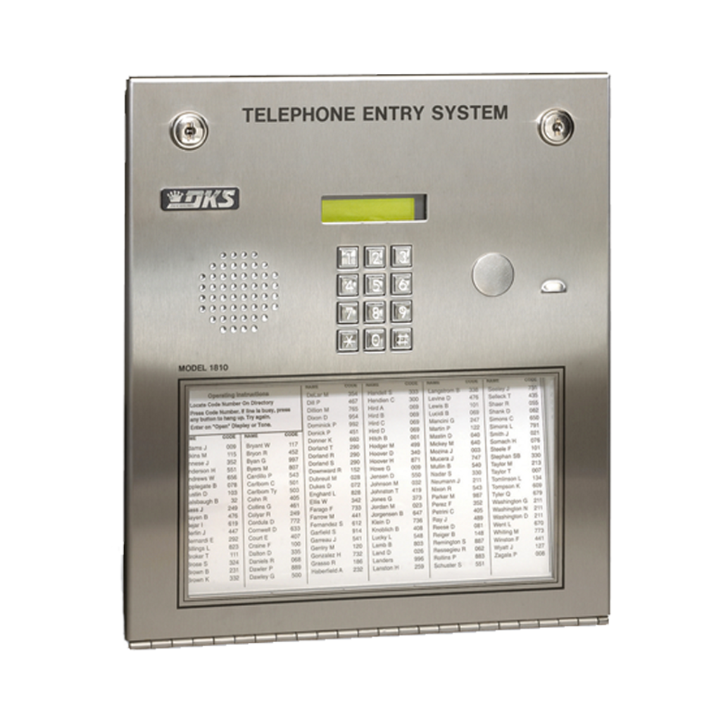 1810 Entry System