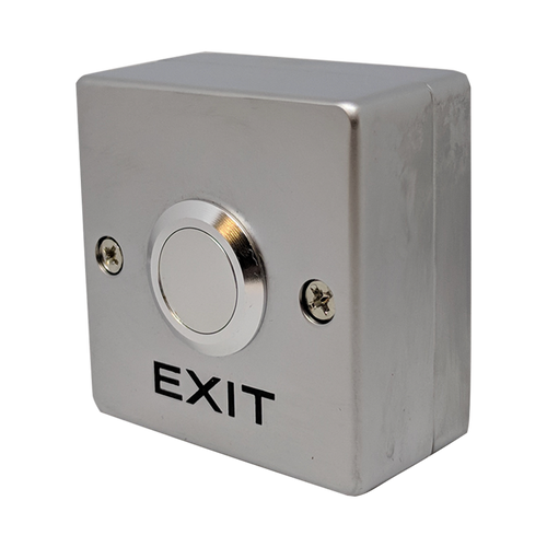 Exit button squarish