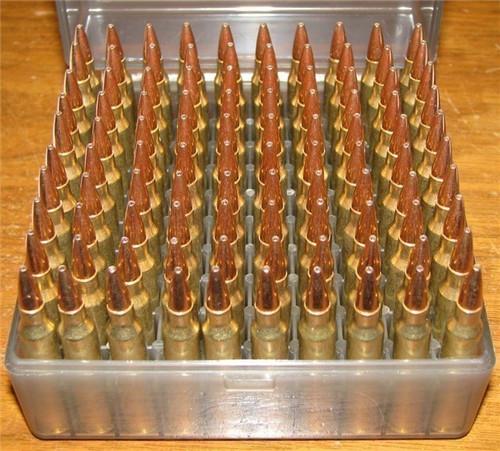 223 68 gr BTHP New WCC Brass 5.56x45 100 Rounds