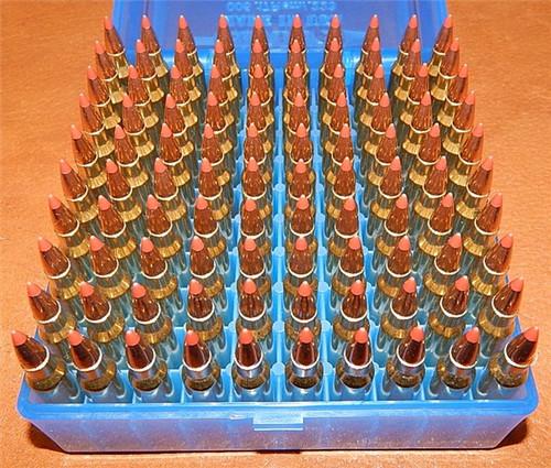 223 55gr Vmax New WCC Brass W/ Crimp  5.56x45 100 Rounds