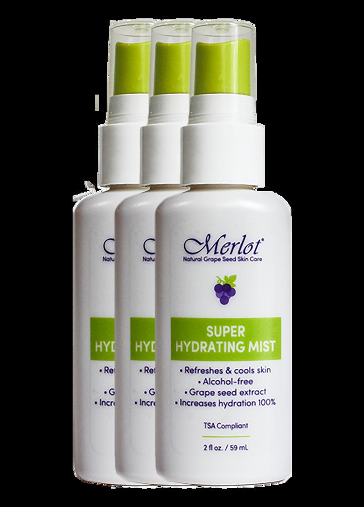 Merlot Super Hydrating Mist 3-pack