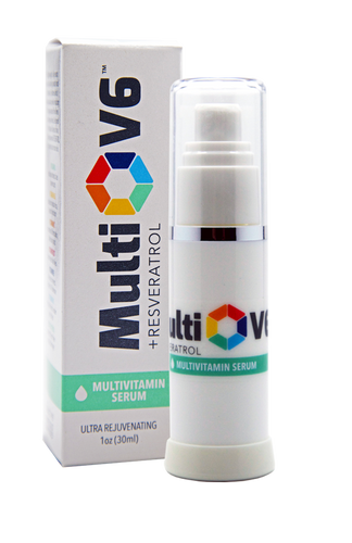 MultiV6 Multivitamin Serum is a lightweight formula that works to instantly smooth and soften skin. Restores skin's natural radiance while reducing the appearance of fine lines and deep wrinkles. Designed to hydrate all layers of skin.