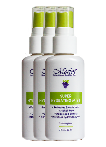 Merlot Super Hydrating Mist 3-pack