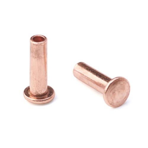 """1/16"""" Dia. 7/32"""" Long Copper Rivet (50pcs.)"""