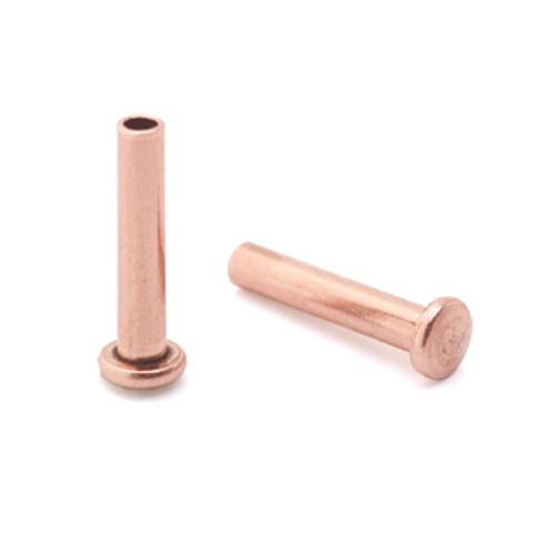 """1/16"""" Dia. 5/16"""" Long Copper Rivet (50pcs.)"""
