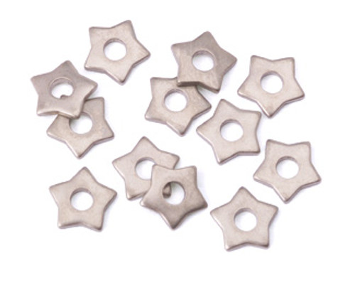 Nickel Silver Star Rivet Accent (12pcs.)