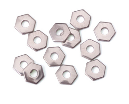 Nickel Silver Hex Rivet Accent (12pcs.)