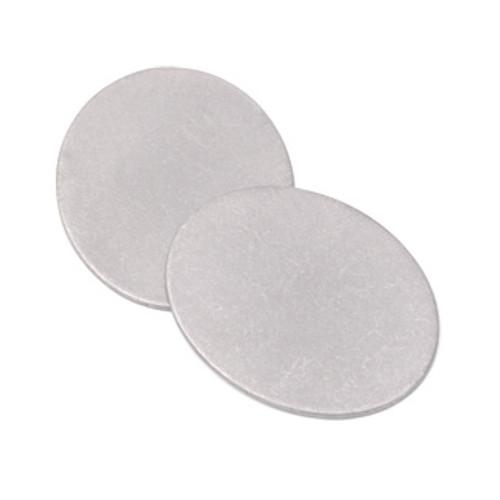 """Nickel Silver 7/8"""" x 3/4"""" Oval Blank (2pcs.)"""