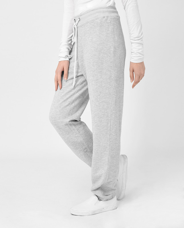 Light Grey Loose Fit Trousers