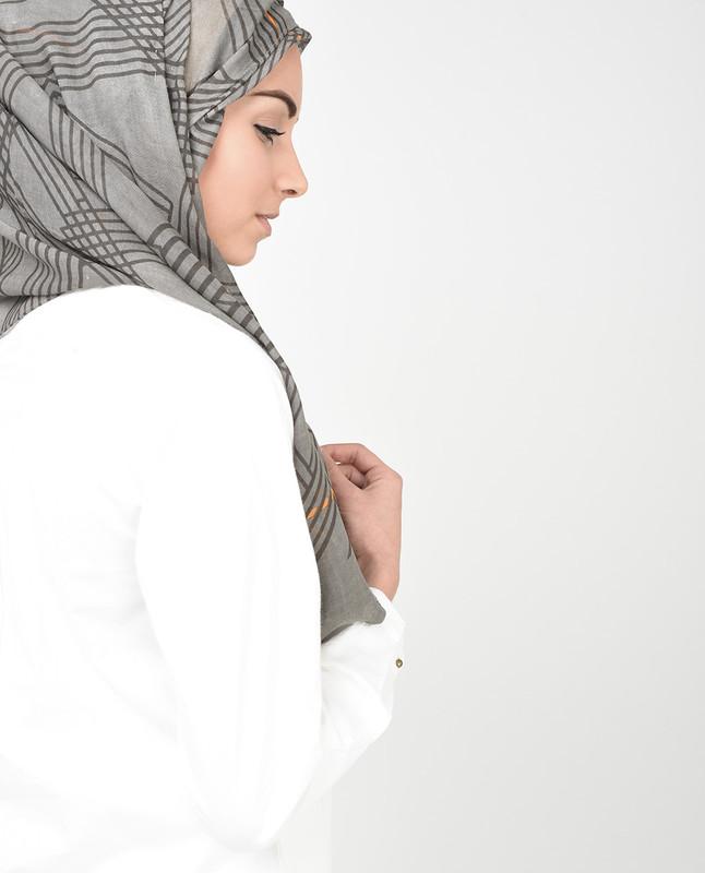 Orange You Daring Hijab