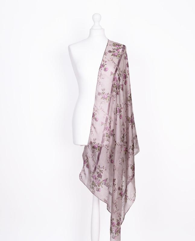 Lavender Dreams Silk Hijab