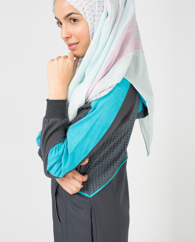Aqua Bliss Hijab