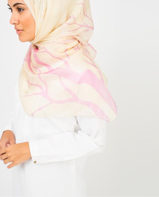 White Sand Silk Hijab