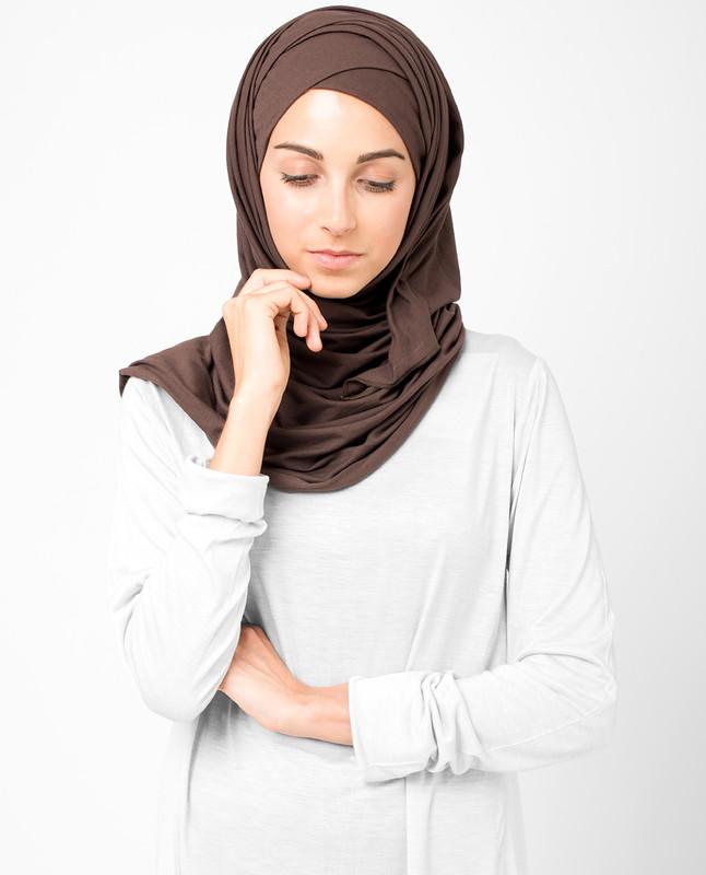 Coffee Bean Jersey Hijab