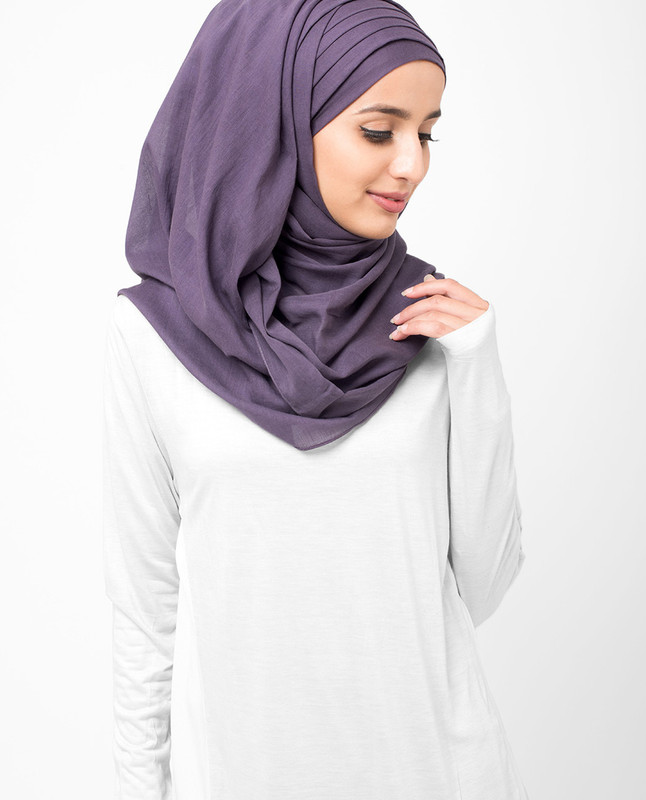 Indigo Voile Hijab