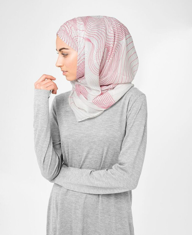 Gardenia Mauve Hijab