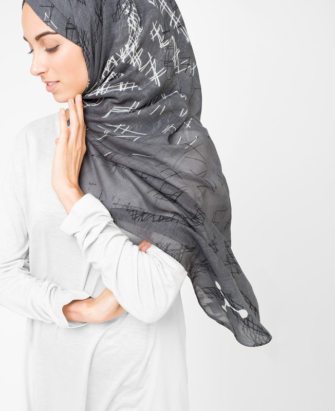 Steel Grey Hijab