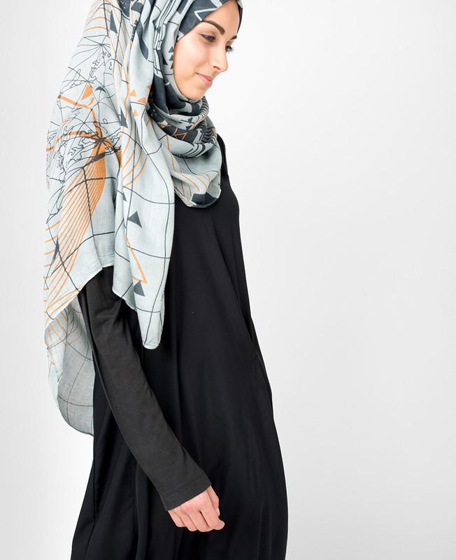 Urban Smoked Pearl Hijab