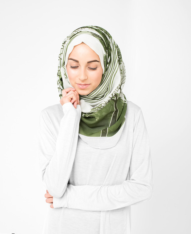 Urban Glacier Grey Hijab