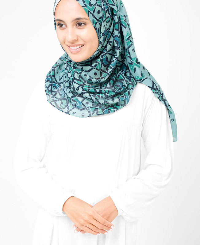 Starlight Blue  Hijab