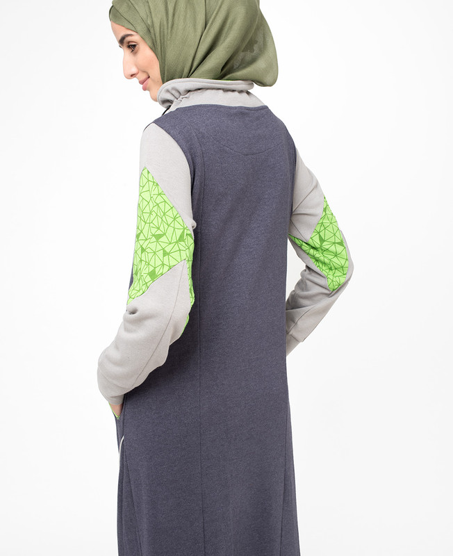 Glow in Green Jilbab