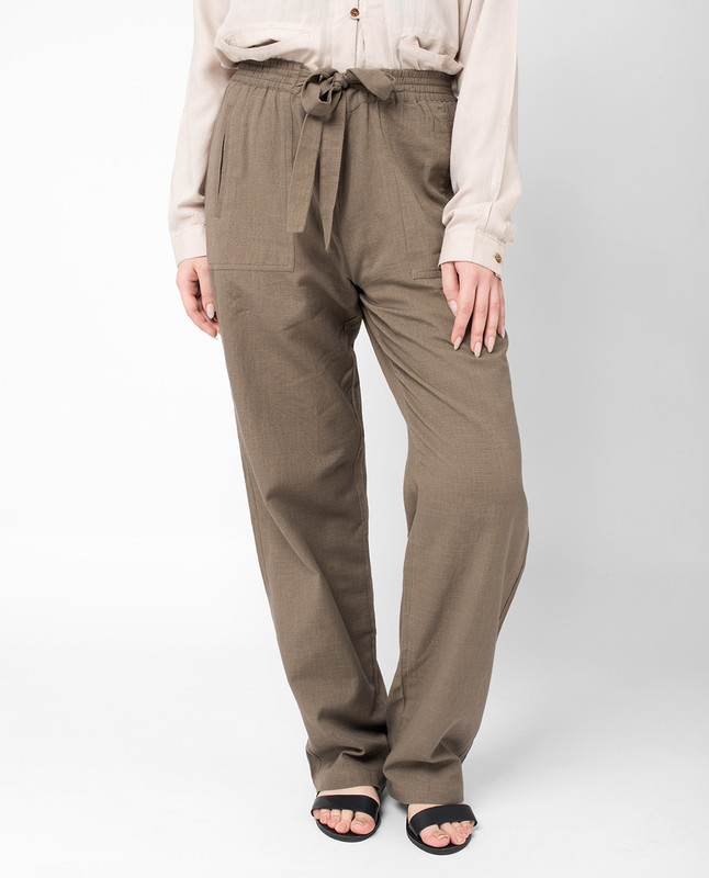 Brown Loose Trousers