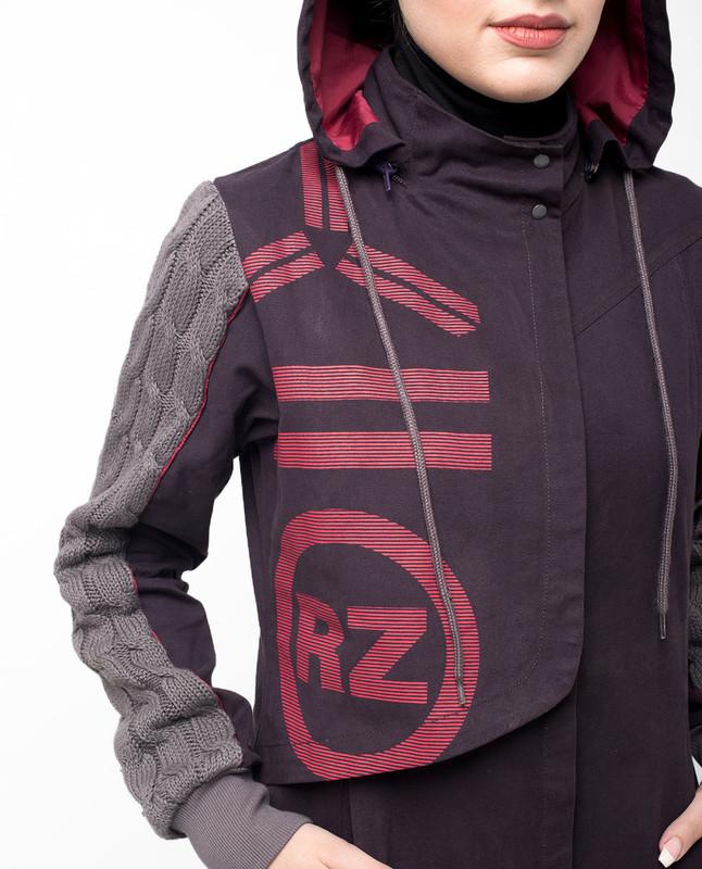 Winter Games Knit and Mac Printed Jilbab
