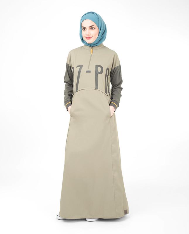 Toggle Waist Jilbab